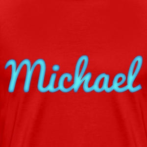 Michael in Blue - Men's Premium T-Shirt