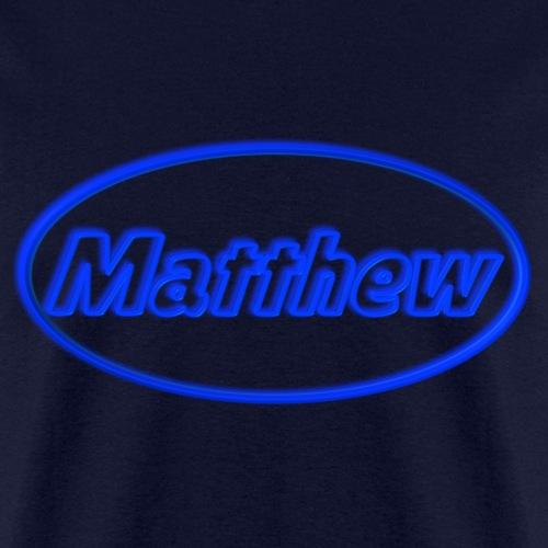 Matthew in Neon Blue