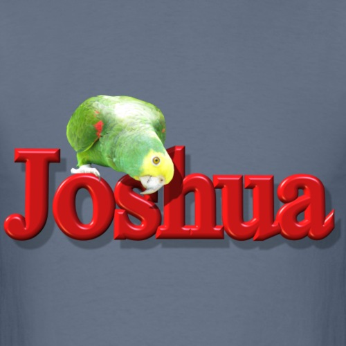 Joshua With a Parrot