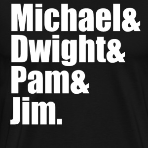 The Office Cast T-Shirts - Men's Premium T-Shirt