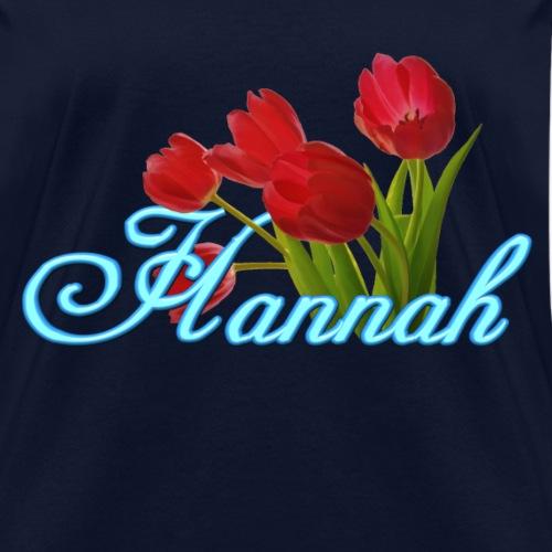 Hannah With Tulips
