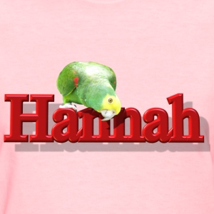 Hannah With a Parrot  - Women's T-Shirt