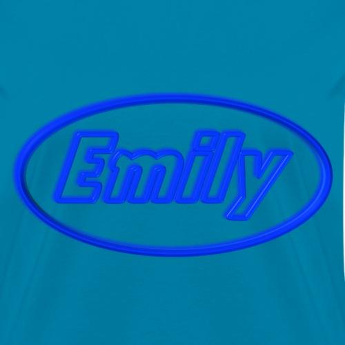 Emily in Neon Blue
