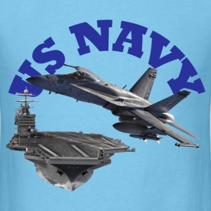 Hornet Over Carrier - Men's T-Shirt