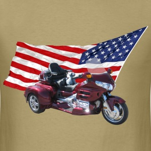 Patriotic Trike - Men's T-Shirt