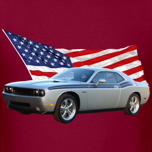 Challenger with Flag