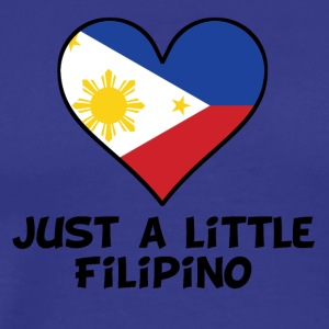 Just A Little Filipino - Men's Premium T-Shirt
