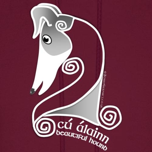 Celtic hound head white