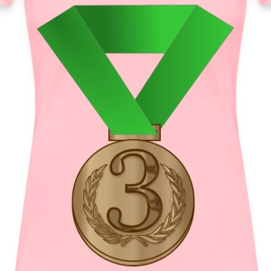 Bronze medal / award - Women's Premium T-Shirt