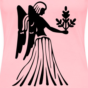 Virgo drawing 4 - Women's Premium T-Shirt