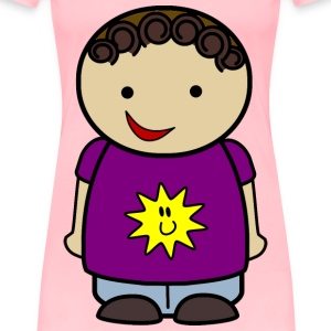 Happy Boy Sun Shirt - Women's Premium T-Shirt