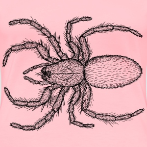 Hairy Spider - Women's Premium T-Shirt