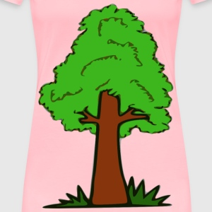 Simple Tree - Women's Premium T-Shirt
