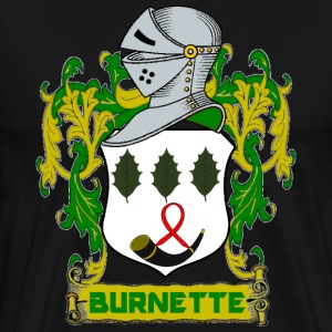 BURNETTE OF USA CREST T-Shirts - Men's Premium T-Shirt