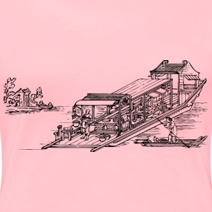 Floating restaurant - Women's Premium T-Shirt
