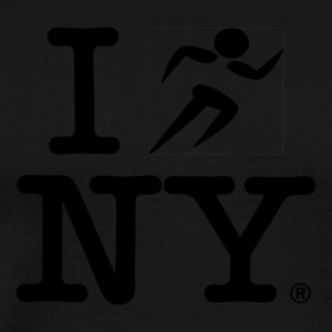 I RUN NY - Men's Premium T-Shirt