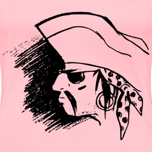 Pirate Head - Women's Premium T-Shirt