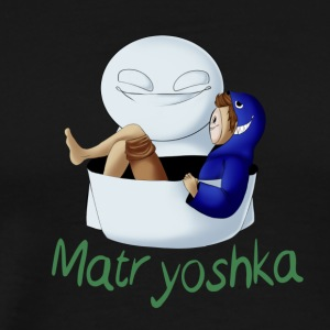 Matryoshka Cry - Men's Premium T-Shirt