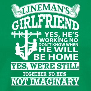 Lineman Girlfriends Shirts - Men's Premium T-Shirt