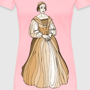 Shakespeare characters Lady Montague - Women's Premium T-Shirt