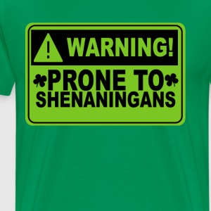 prone_to_shenanigans_ - Men's Premium T-Shirt