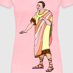 Shakespeare characters emperor (colour) - Women's Premium T-Shirt