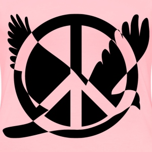 Peace And Peace - Women's Premium T-Shirt