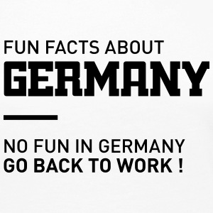 fun facts about germany Long Sleeve Shirts - Women's Premium Long Sleeve T-Shirt
