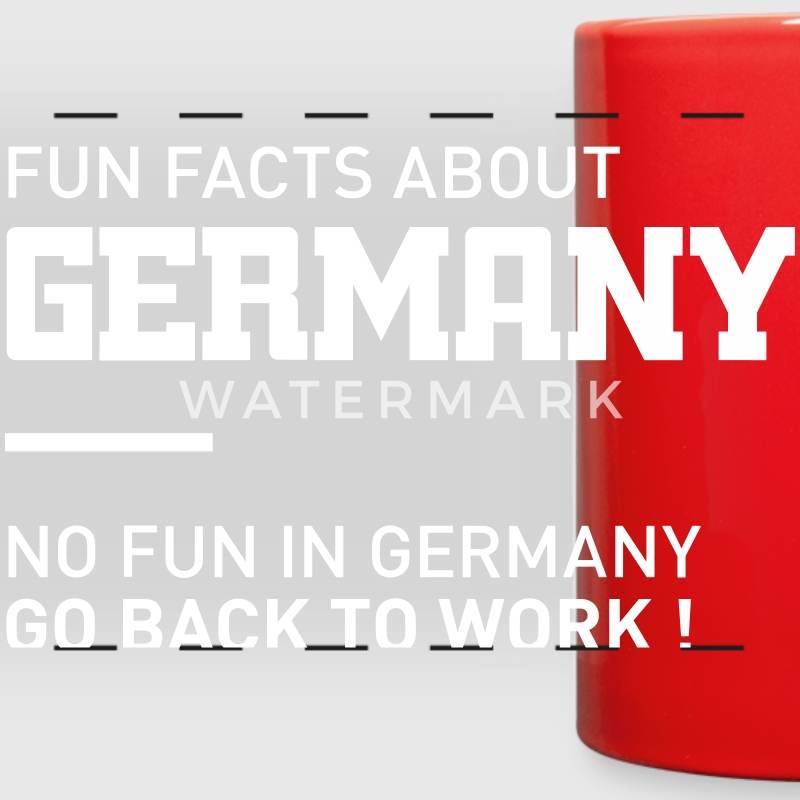 fun facts about germany Mugs & Drinkware - Full Color Panoramic Mug