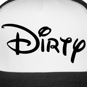 Dirty TRUCKER CAP - Trucker Cap