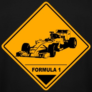 Formula One Racer Road Sign T-Shirts - Men's Tall T-Shirt