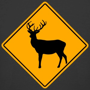 Deer Road Sign T-Shirts - Men's 50/50 T-Shirt