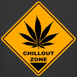 Chillout Zone - Cannabis Road Sign T-Shirts - Men's 50/50 T-Shirt