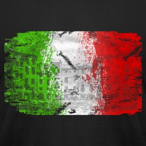 Italy Flag T-Shirts - Men's T-Shirt by American Apparel