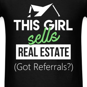 Real Estate Agent - This girl sells Real Estate (G - Men's T-Shirt