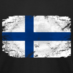 Finland Flag T-Shirts - Men's T-Shirt by American Apparel