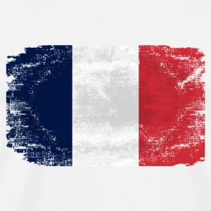 France Flag T-Shirts - Men's Premium T-Shirt
