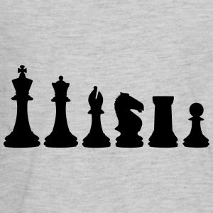 Chess, chess piece, chessman Kids' Shirts - Kids' Premium Long Sleeve T-Shirt