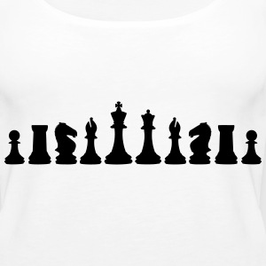 Chess, chess piece, chessman Tanks - Women's Premium Tank Top