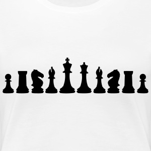 Chess, chess piece, chessman T-Shirts - Women's Premium T-Shirt