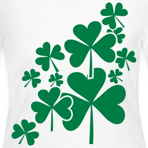 St Patrick's Day Long Sleeve Shirts - Women's Long Sleeve Jersey T-Shirt