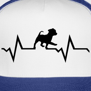 dog, puppy & heartbeat Sportswear - Trucker Cap