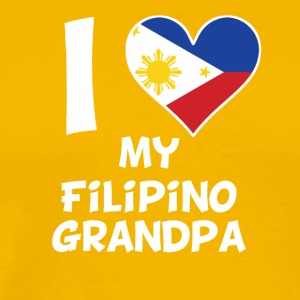 I Heart My Filipino Grandpa - Men's Premium T-Shirt