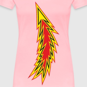 Fire Lightning - Women's Premium T-Shirt