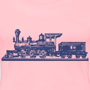 Steam Engine - Women's Premium T-Shirt