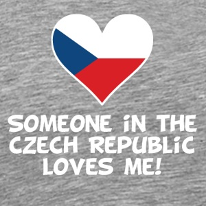 Someone In the Czech Republic Loves Me - Men's Premium T-Shirt