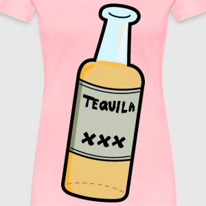 Cartoon Tequila - Women's Premium T-Shirt