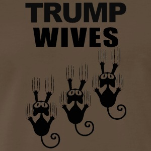 TRUMP WIVES - Men's Premium T-Shirt