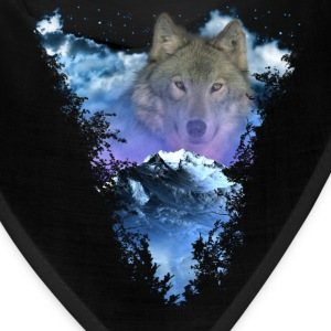 Wolf Moutain Caps - Bandana