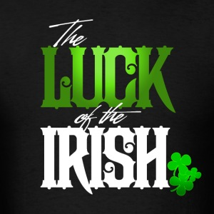 Luck of the Irish-2 - Men's T-Shirt